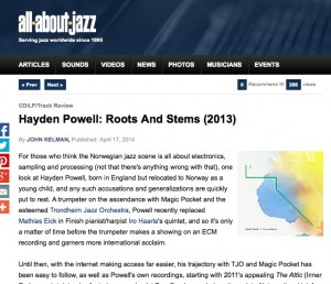 Roots and Stems - All About Jazz